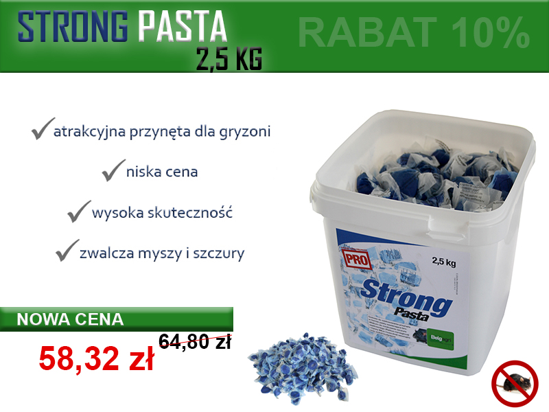 STRONG PASTA PROMOCJA